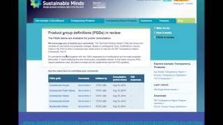 SM تقرير الشفافية Tm البرنامج: كيفية إنشاء التعليق على استخدام المنتج مجموعة التعريف