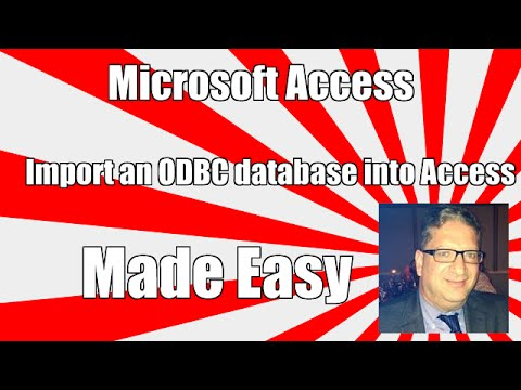 how-to-import-an-odbc-database-into-access---access-2003,-2010,-2013,-2016-tutorial
