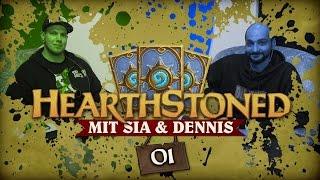 [1/4] Hearthstone: Heroes Of Warcraft mit Sia und Dennis | Hearthstoned | 22.09.2015