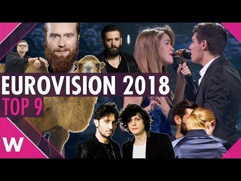 Eurovision 2018 Top 9: Our favourites so far