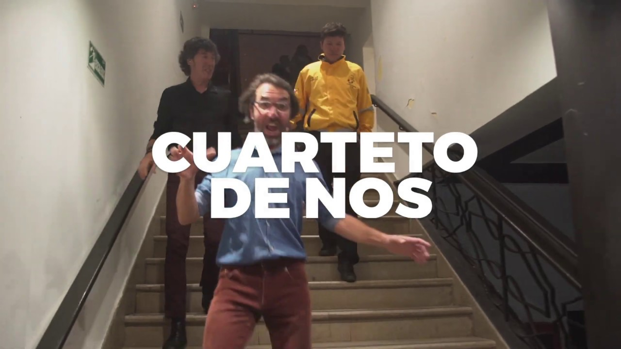 Cuarteto de Nos en México (CDMX) 24 de marzo en El Plaza Condesa
