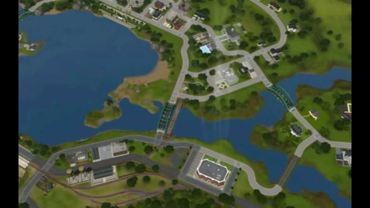 the sims 3 ambtions twinbrook town youtube