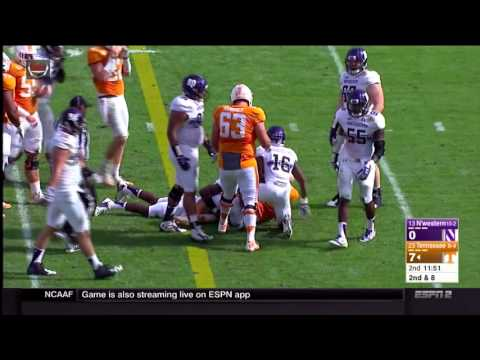 Outback Bowl Highlights, Tennessee Smashes Northwestern, 45-6