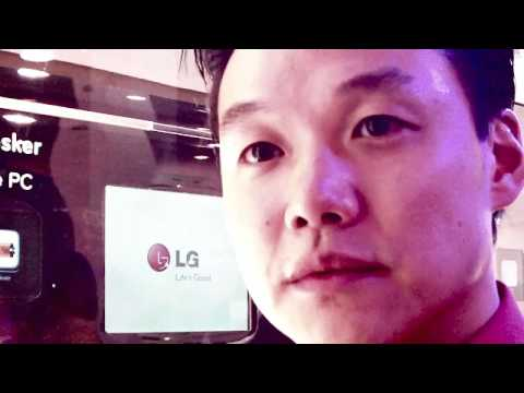 CES 2010 - LG Unveils The New GW990 INTEL ATOM Powered Smartphone