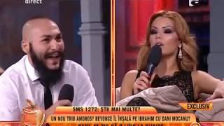 """Dani Mocanu: """"Doua zile la rand am facut sex cu Beyonce de Romania, non-stop"""""""