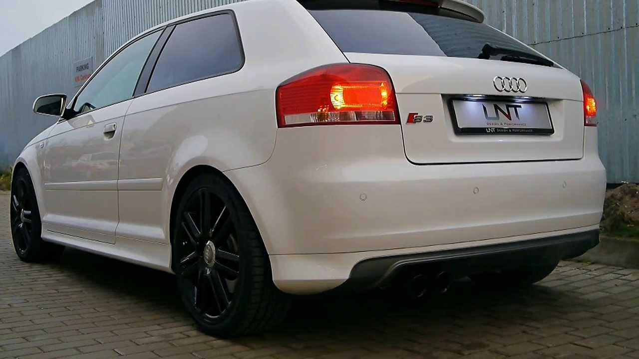 Audi S3 W Milltek Sport Cat Back Non Resonated Exhaust Unt Design Performance
