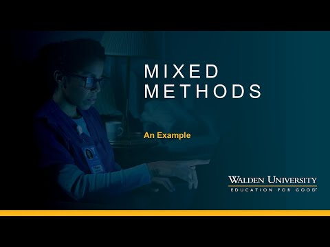 Mixed Methods: An Example