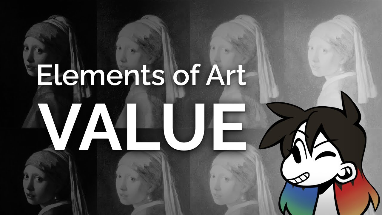 VALUE / TONE: Element of Art Explained in 6 minutes (funny!)