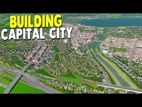 [LIVE?] BUILDING GREATEST CAPITAL CITY & NEW MAP - Raptoria - Cities: Skylines Gameplay - 동영상