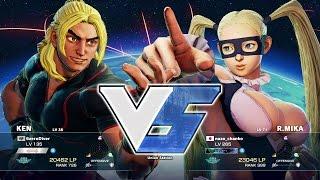 Eita (Ken) vs nazo_chanko (Mika):えいた(ケン)vs nazo_chanko(ミカ)
