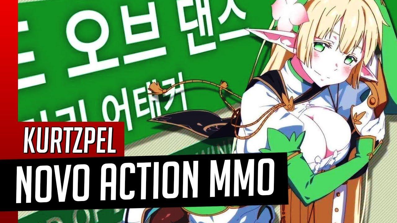 NOVO MMO ACTION de PVP para PC - KurtzPel