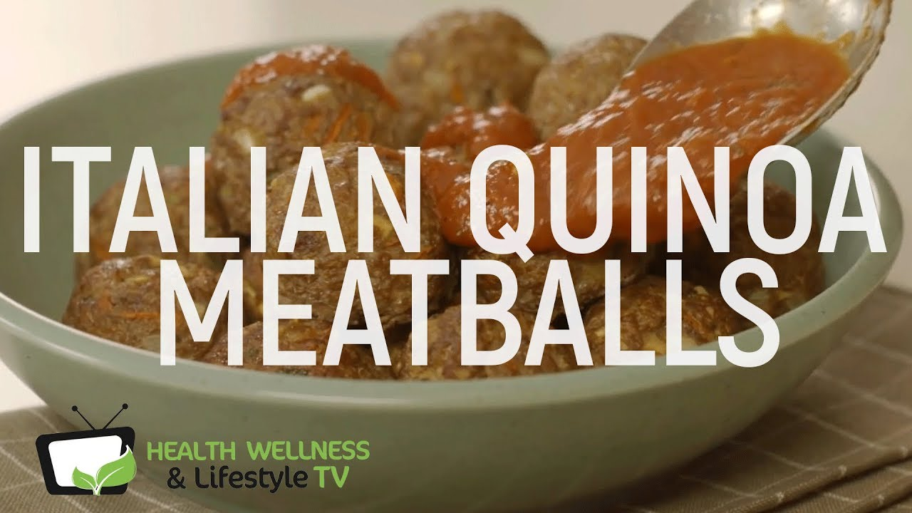 recipe: dr oz quinoa meatballs [29]