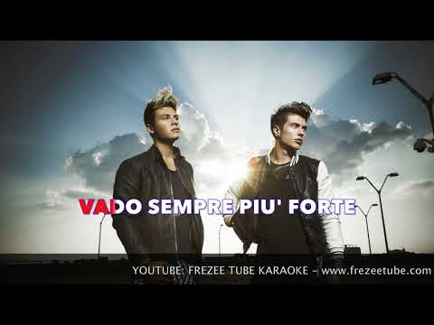 Benji & Fede - Troppo forte - Karaoke con testo