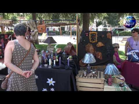 Mercadillo de artesania en San Fernando de Henares