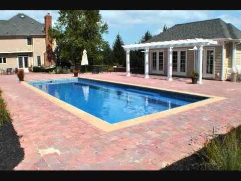 Pavers And Fiberglass Swimming Pools Awesome Slideshow