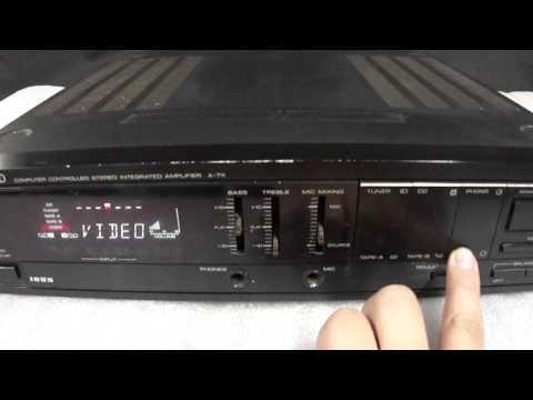 Amplificador Kenwood A-7X