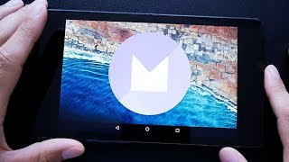 Обзор Android 6.0 Marshmallow на Nexus 7 (2013)