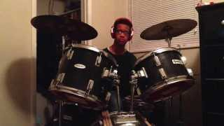 Vicki Yohe - Because Of Who You Are (Drum Cover)