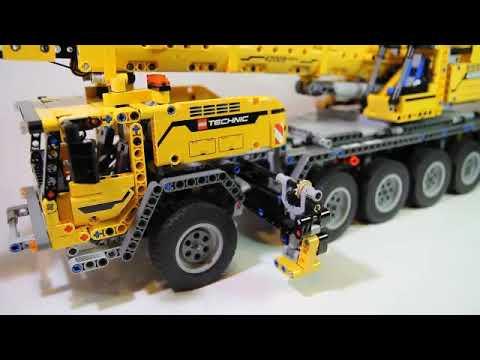 Technic Mobile Crane MK II 42009 Compatible 20004 REVIEW