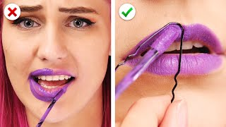 DON'T PANIC ! 11 Clever Beauty Hacks for Smart Girls by Crafty Panda