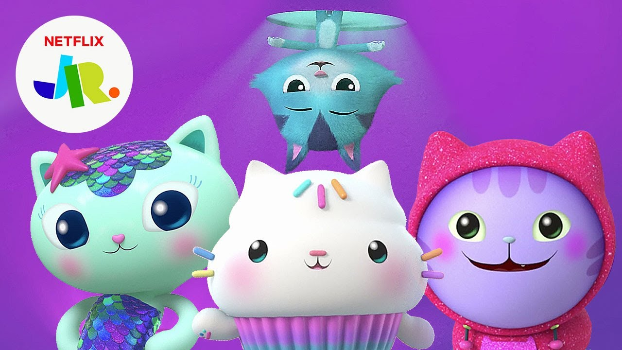 Download Cat of the Day Song Compilation 😻🎶 Gabby's Dollhouse | Netflix Jr