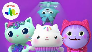 Cat of the Day Song Compilation  Gabby's Dollhouse | Netflix Jr