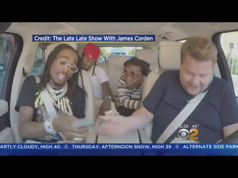 Migos Tries 'Carpool Karaoke' Tonight
