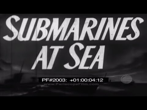 Submarines at Sea