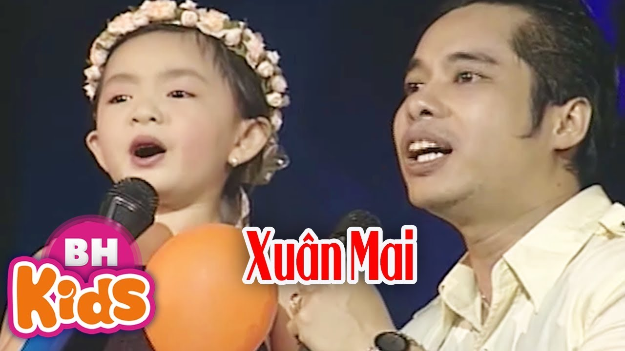 Giọng ca nhí nhỏ tuổi nhất hát cùng ca sĩ Ngọc Sơn - Bé Xuân Mai ♫ Nhớ Cha ♫