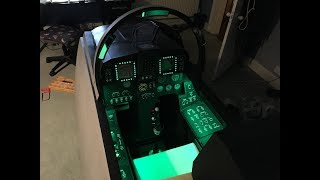 Flight Simulator Cockpit Lighting Installation