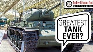 Driving Over Anti Tank Guns: The Remarkable Russian KV Tanks