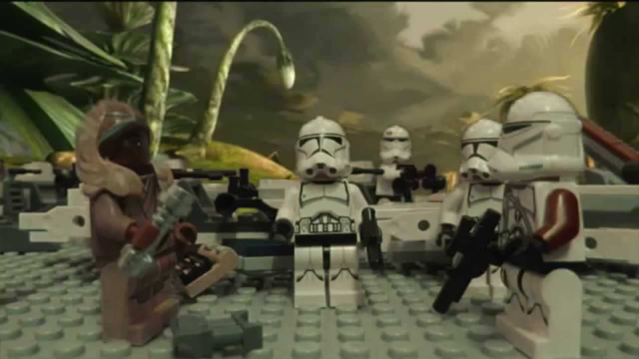Lego Star Wars: Battle of Saleucami (LEGO STOP MOTION ...