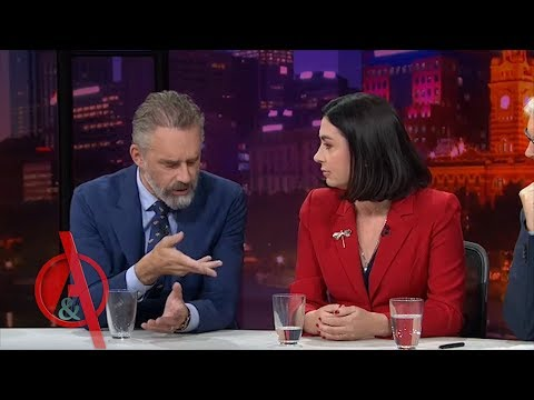 Jordan Peterson Confronts Australian Politician on Gender Politics and Quotas | Q&A