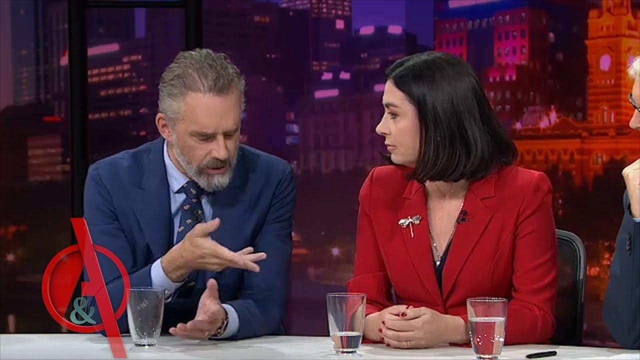 Jordan Peterson Confronts Australian Politician on Gender Politics and Quotas | Q&A