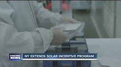 Incentives extended for solar projects in NYS