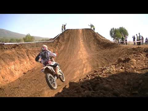 Carrera de motos.Campeonato de Espa�a Cross Country Requena 2015