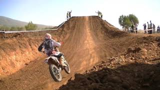 Carrera de motos.Campeonato de España Cross Country Requena 2015