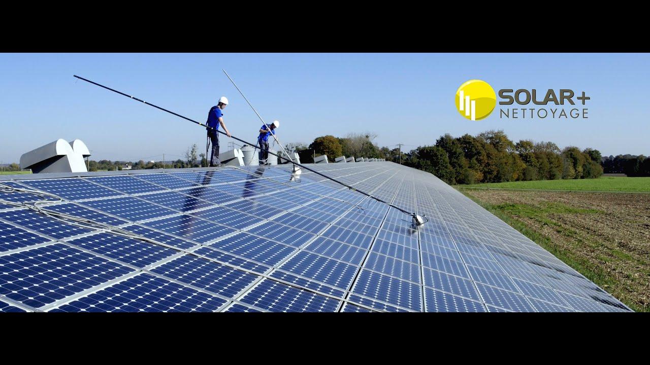 solar nettoyage panneaux photovolta que youtube. Black Bedroom Furniture Sets. Home Design Ideas