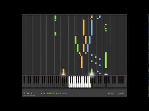 Pokemon Gold/Silver - Credit (Piano)