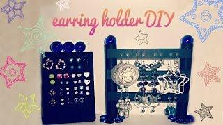 ♥ earring holder DIY ♥