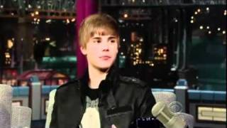 Justin Bieber - Interview - Late Show with David Letterman.avi