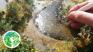 Making a STUNNING ultra-realistic miniature river diorama with AMAZING hyper-realistic vegetation