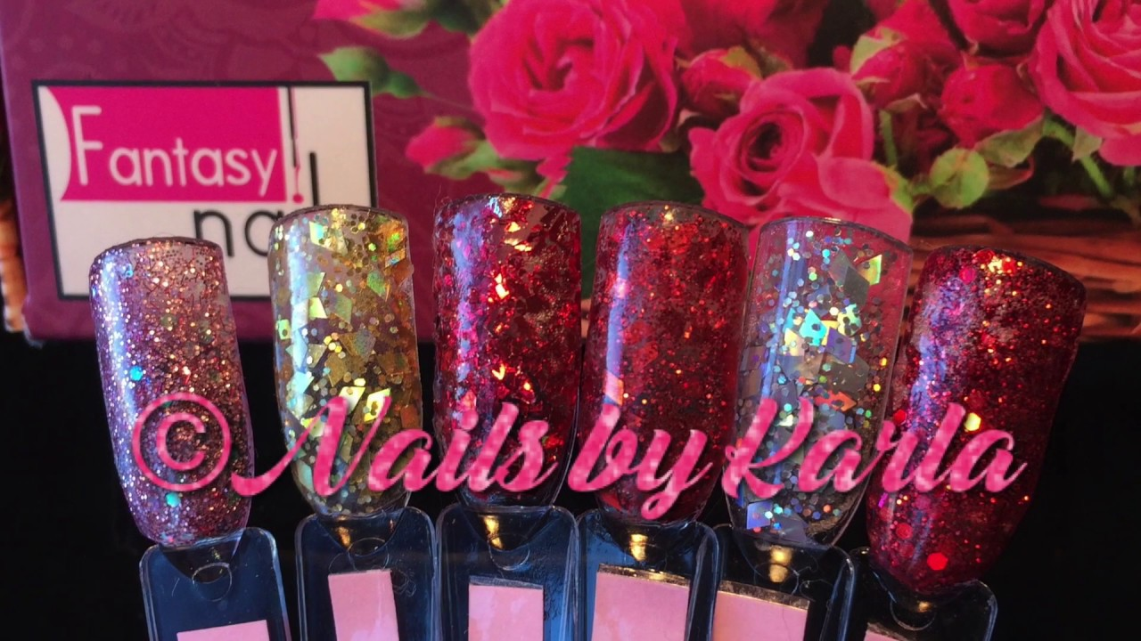 Fantasy Nails Valentinas Collection - YouTube