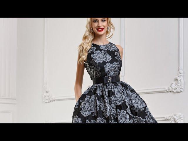 c67acae41f98163 Короткое платье с пышной юбкой - jellja