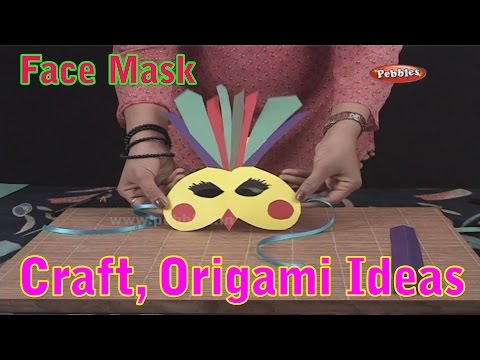 Face Mask | Learn Craft For Kids | Origami For Children | Craft Ideas | Craft With Paper