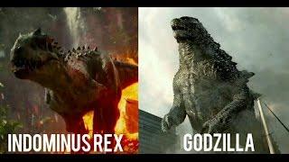 Indominus Rex vs Godzilla: 2018 (HD)