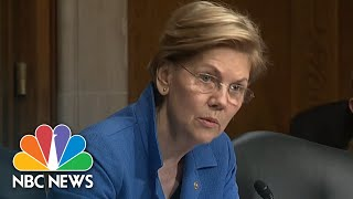 Sen. Warren Grills Health Secy. Azar Over President Trump's Promise To Lower Drug Prices | NBC News