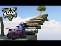 GTA V Online: O MONSTER TRUCK na ESCALADA!!