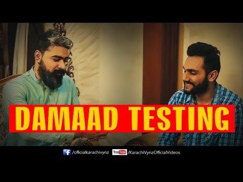 DAMAD TESTING | Karachi Vynz Official