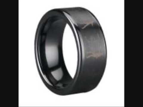 Michael Jackson Tungsten&Ceramic Rings